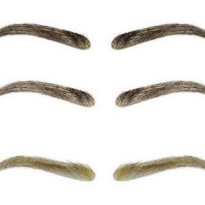 Cejas de pelo natural